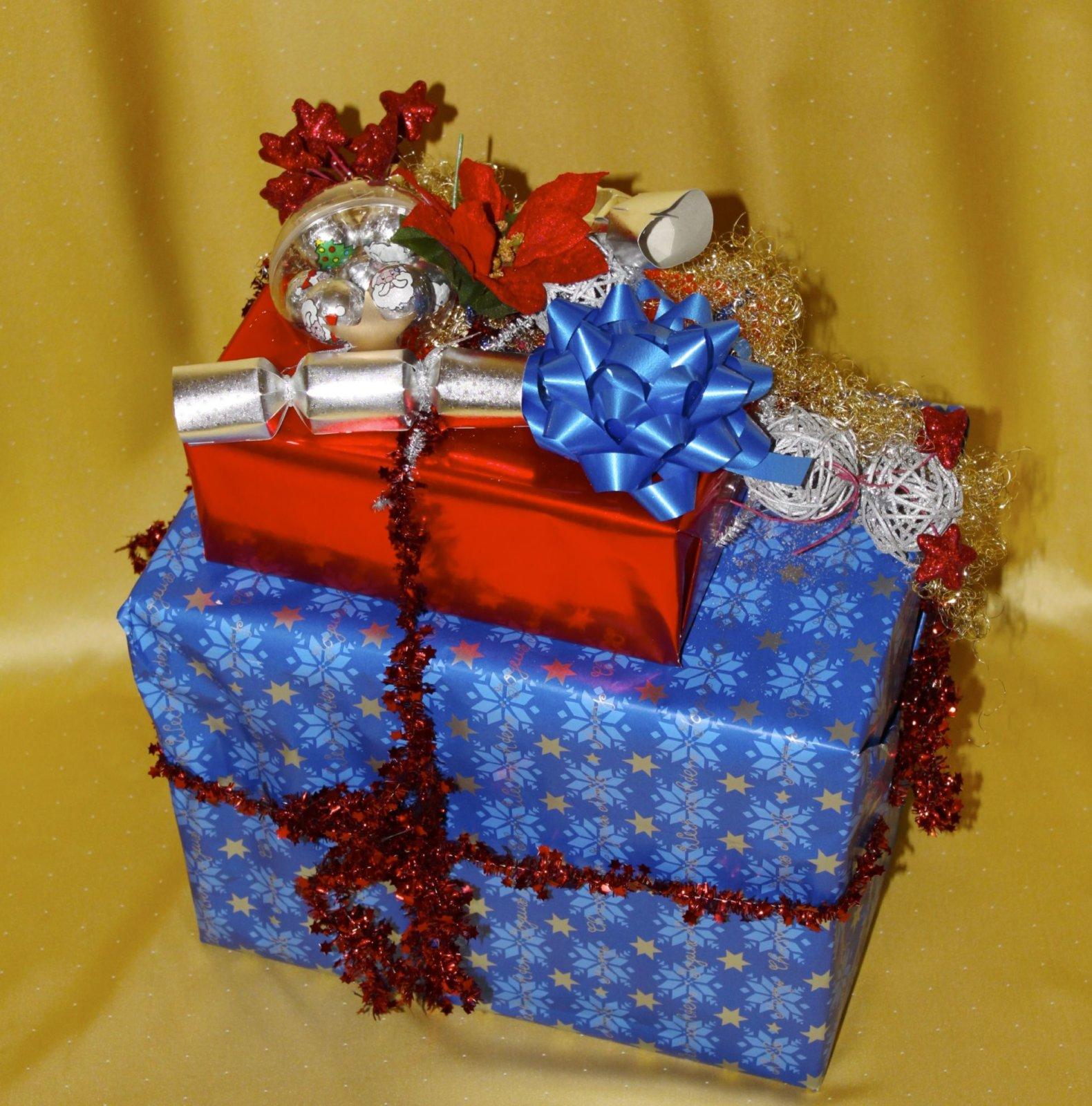 Geschenke Service Berlin - Blaues Geschenk
