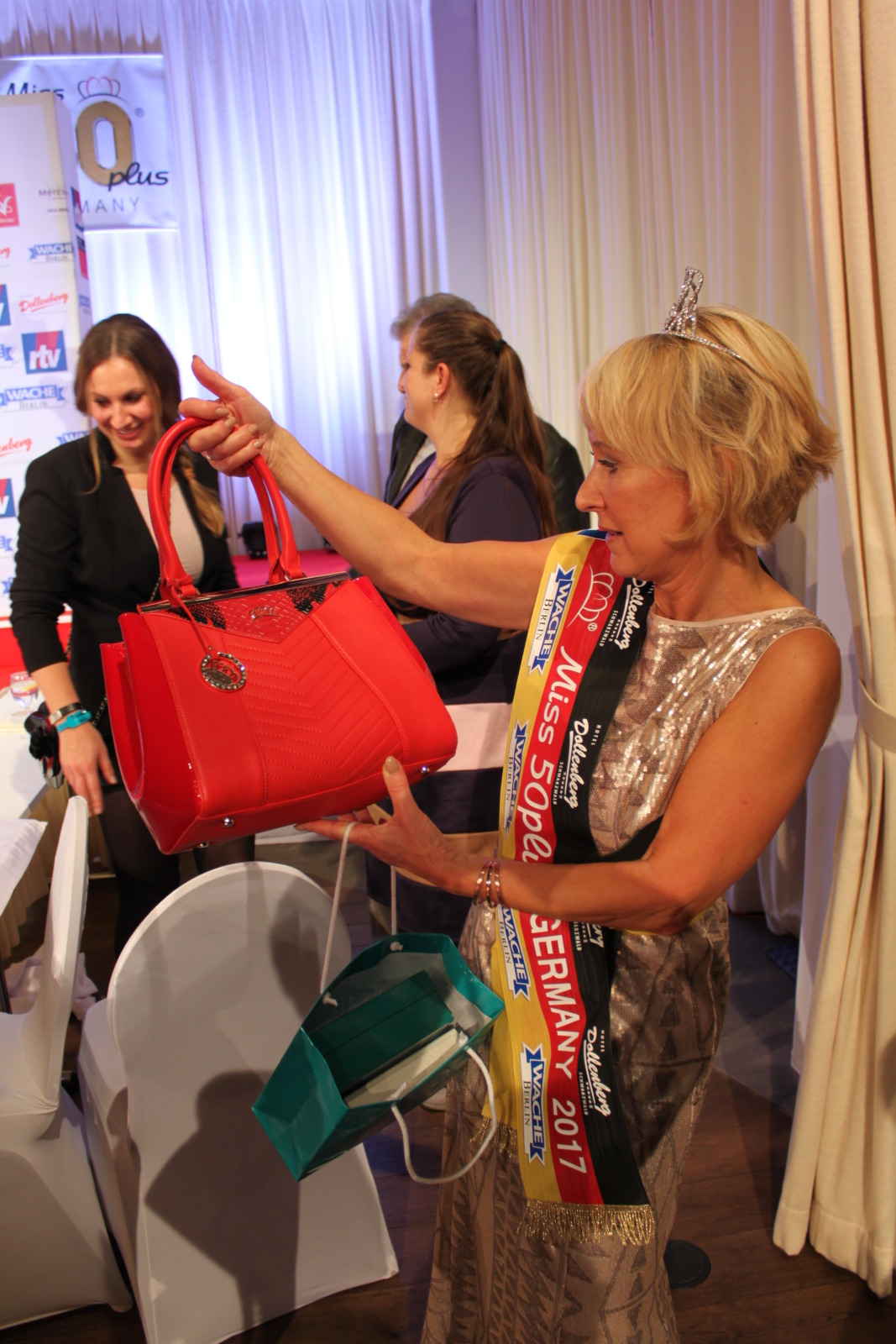 Miss Germany 50+ Tasche